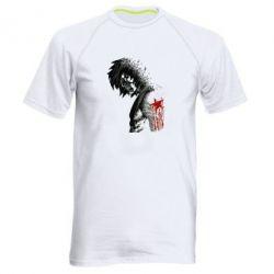 Мужская спортивная футболка Зимний солдат - FatLine