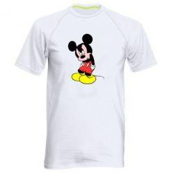 Мужская спортивная футболка Злой Микки Маус - FatLine