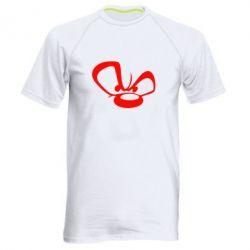 Мужская спортивная футболка Злой мишка - FatLine