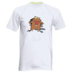 Мужская спортивная футболка Злюки бобри - FatLine