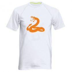 Мужская спортивная футболка Змея - FatLine