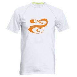 Чоловіча спортивна футболка змеючка - FatLine