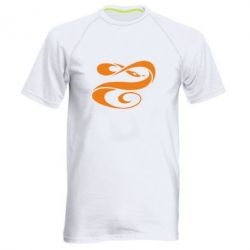 Мужская спортивная футболка змеючка - FatLine