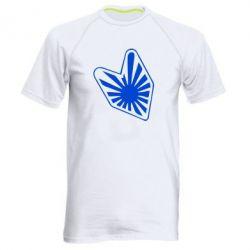 Мужская спортивная футболка Значек JDM - FatLine