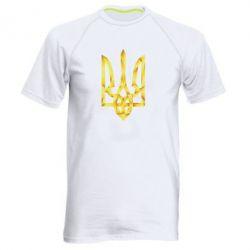 Мужская спортивная футболка Золотий герб - FatLine