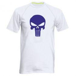 Мужская спортивная футболка Зубастый череп - FatLine