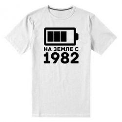 Мужская стрейчевая футболка 1982 - FatLine