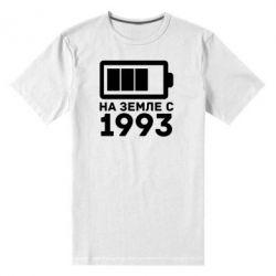 Мужская стрейчевая футболка 1993 - FatLine
