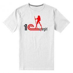 Мужская стрейчевая футболка 1Cupergirl - FatLine