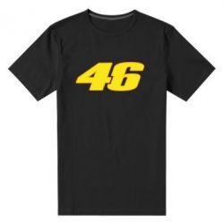 Мужская стрейчевая футболка 46 Valentino Rossi - FatLine