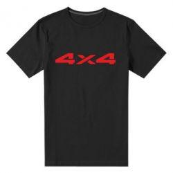 Мужская стрейчевая футболка 4x4