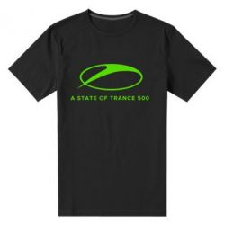 Мужская стрейчевая футболка A state of trance 500