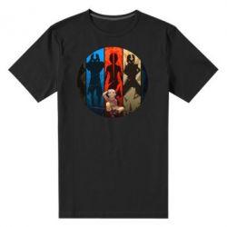 Мужская стрейчевая футболка Aang Art