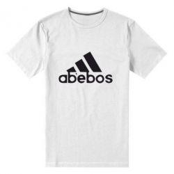 Мужская стрейчевая футболка ab'ebos - FatLine