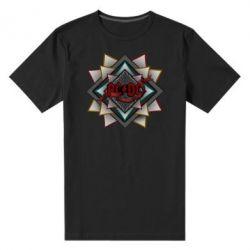 Мужская стрейчевая футболка AC/DC Art Logo - FatLine