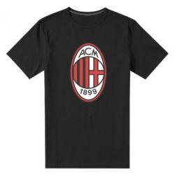 Мужская стрейчевая футболка AC Milan - FatLine