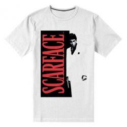 Купить Мужская стрейчевая футболка Al Pacino aka Tony Montana, FatLine