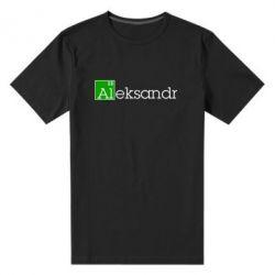 Мужская стрейчевая футболка Alexandr - FatLine