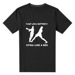 Мужская стрейчевая футболка Ali: Float Like A Butterfly - FatLine