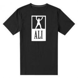 Мужская стрейчевая футболка Ali - FatLine