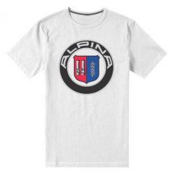 Мужская стрейчевая футболка Alpina - FatLine
