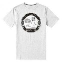 Мужская стрейчевая футболка AMG - FatLine