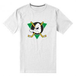 Мужская стрейчевая футболка Anaheim Mighty Ducks - FatLine