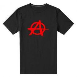 Мужская стрейчевая футболка Anarchy - FatLine