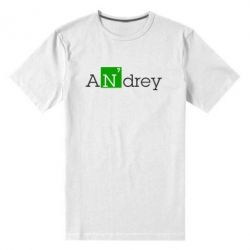Мужская стрейчевая футболка Andrey - FatLine