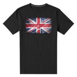 Мужская стрейчевая футболка Англия - FatLine