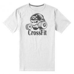 Мужская стрейчевая футболка Angry CrossFit - FatLine