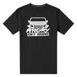 Чоловіча стрейчева футболка Angry Off Road