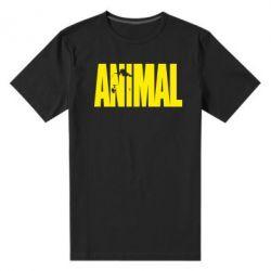 Мужская стрейчевая футболка Animal Logo - FatLine