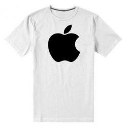 Мужская стрейчевая футболка Apple Corp. - FatLine