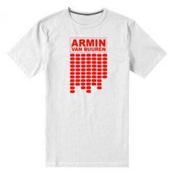 Мужская стрейчевая футболка Armin Van Buuren Trance - FatLine