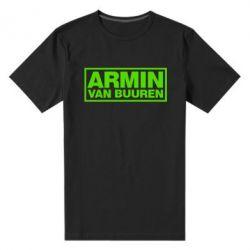Мужская стрейчевая футболка Armin - FatLine