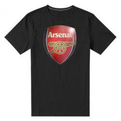 Мужская стрейчевая футболка Arsenal 3D - FatLine