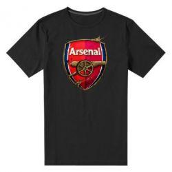 Мужская стрейчевая футболка Arsenal Art Logo - FatLine