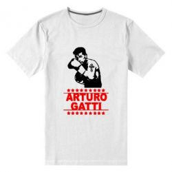 Мужская стрейчевая футболка Arturo Gatti - FatLine