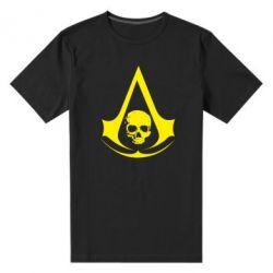 Мужская стрейчевая футболка Assassin's Creed Misfit - FatLine