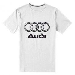 Мужская стрейчевая футболка Audi Big - FatLine