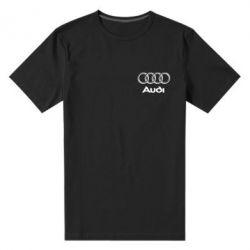 Мужская стрейчевая футболка Audi Small - FatLine