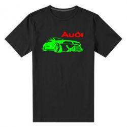 Мужская стрейчевая футболка Audi Turbo - FatLine