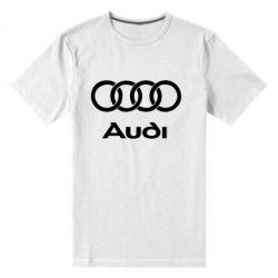 Мужская стрейчевая футболка Audi - FatLine