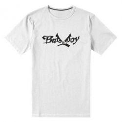 Мужская стрейчевая футболка Bad Boy Logo - FatLine