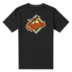 Мужская стрейчевая футболка Baltimore Orioles - FatLine