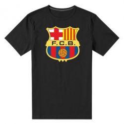 Мужская стрейчевая футболка Barcelona - FatLine