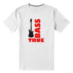 Мужская стрейчевая футболка Bass True - FatLine
