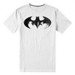 """Мужская стрейчевая футболка Batman """"3d Logo"""" - FatLine"""