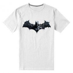 Мужская стрейчевая футболка Batman Arkham Asylum - FatLine